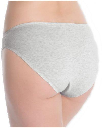 Szare majtki bawełniane Julimex