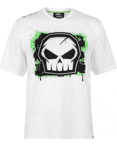 Biały t-shirt bawełniany No Fear