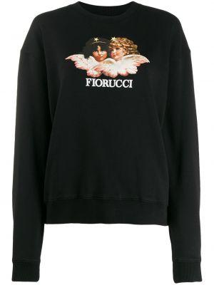 Толстовка винтажная - черная Fiorucci