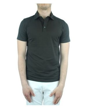 Zielony t-shirt Cruciani