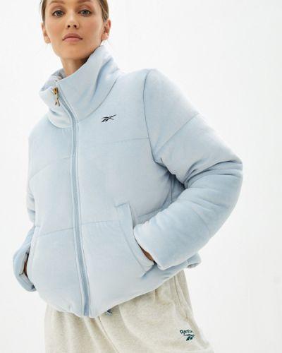Утепленная куртка - голубая Reebok