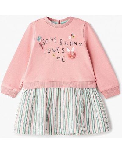 Платье розовый индийский Marks & Spencer
