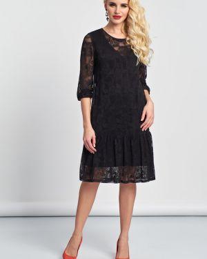 Вечернее платье со складками платье-сарафан Jetty
