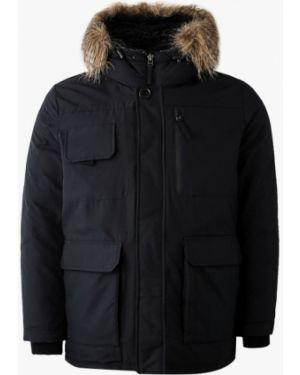 Теплая черная куртка Marks & Spencer
