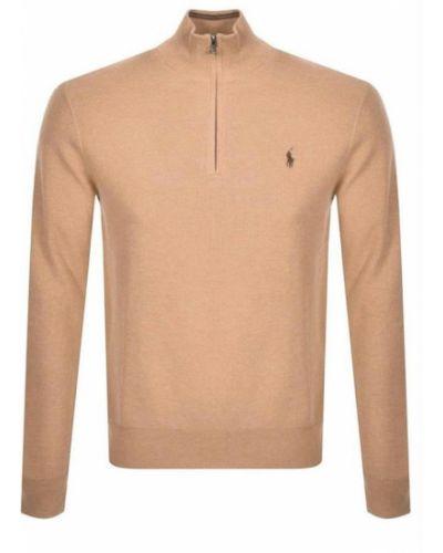 Sweter z zamkiem błyskawicznym Ralph Lauren
