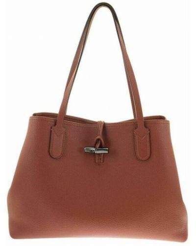Brązowa torebka Longchamp