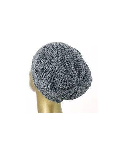 Вязаная шапка кашемировая меланж Emporio Armani