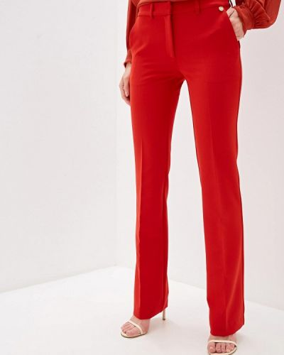Классические брюки красный Blugirl Folies