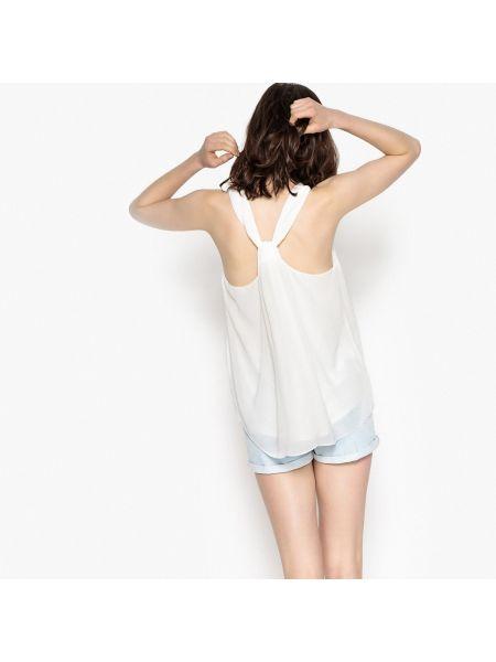 Блузка без рукавов из вискозы круглая без рукавов Sud Express