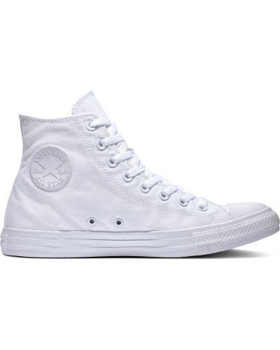 Облегченный белый топ на шнуровке Converse