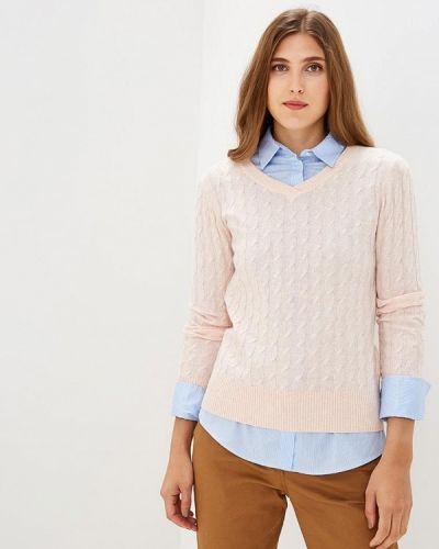 Розовый пуловер 2018 Baon
