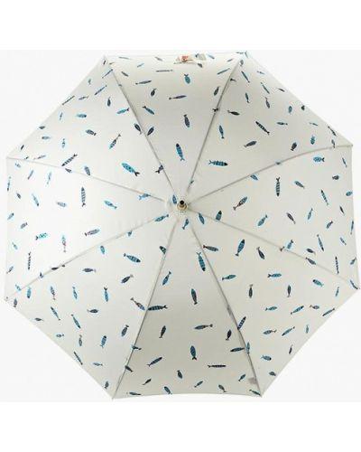 Зонт-трость белый Kawaii Factory