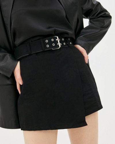 Черная юбка-шорты Moki