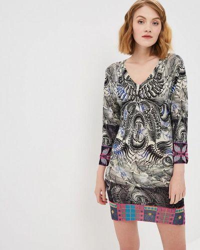 Платье с длинными рукавами Custo Barcelona