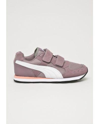 Кроссовки кожаные фиолетовый Puma