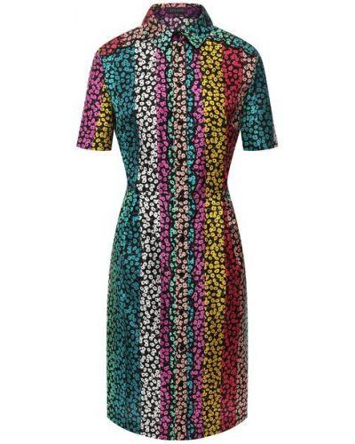 Шелковое платье мини Escada