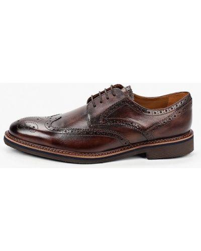 Кожаные коричневые туфли Salamander