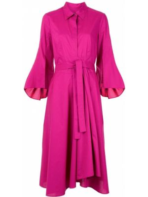 Платье с поясом на пуговицах платье-рубашка Paule Ka