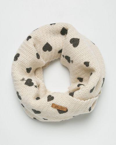 Бежевый шарф трикотажный Barts