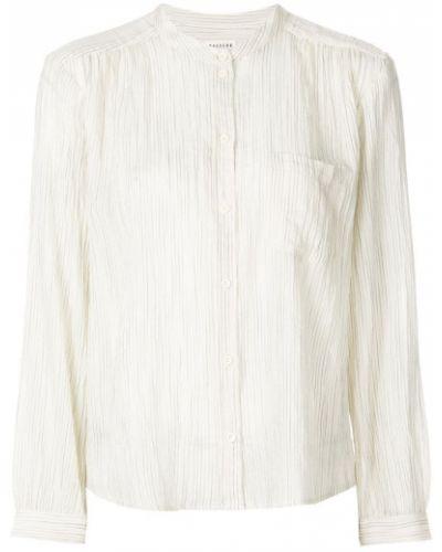 Блузка с длинным рукавом в полоску на пуговицах Masscob