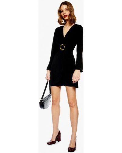 Вечернее платье весеннее черный Topshop