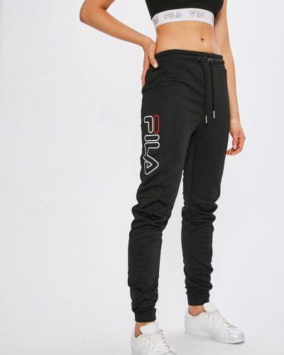 Спортивные брюки на резинке свободные Fila