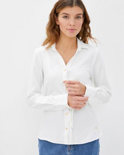 Белая блузка с длинными рукавами Galvanni