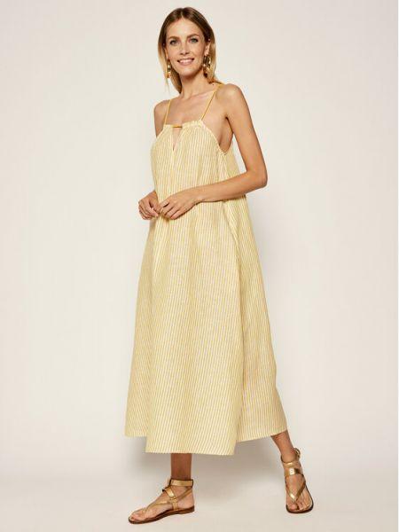 Sukienka - żółta Max&co.