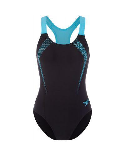 Спортивный купальник для бассейна черный Speedo