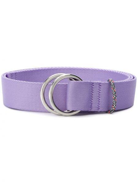 Фиолетовый ремень с пряжкой с поясом Ganni