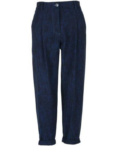 Niebieskie spodnie Momoni