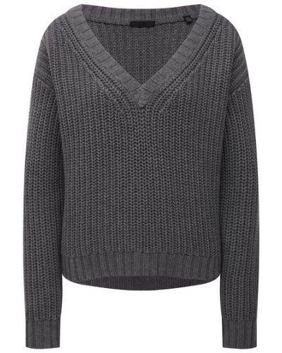Серый кашемировый свитер Atm Anthony Thomas Melillo