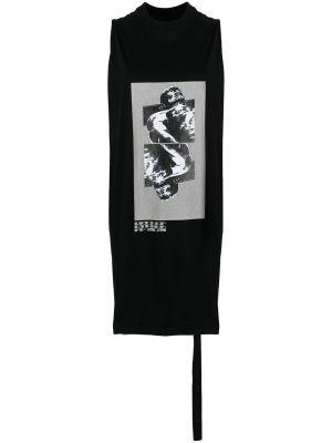 Kamizelka bez rękawów - czarna Rick Owens