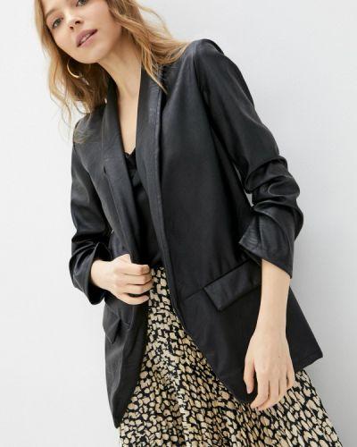 Черная кожаная куртка Haily's