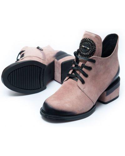 Ботильоны - розовые Lady Marcia