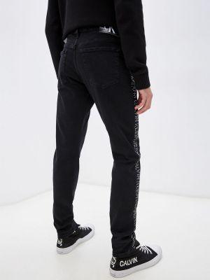 Джинсы - черные Calvin Klein Jeans