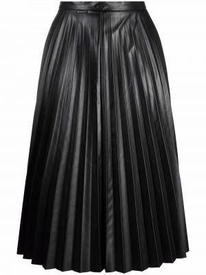 Черная юбка из полиэстера Moncler