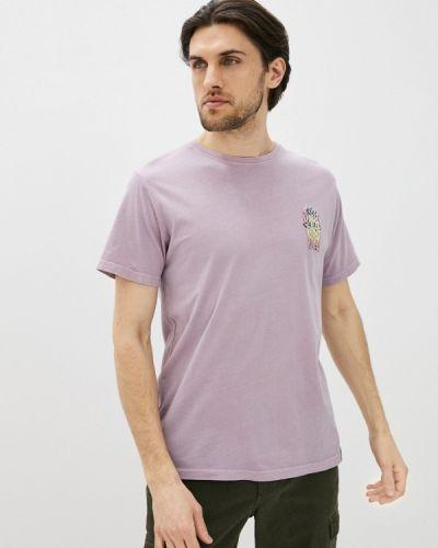 Футболка с короткими рукавами - фиолетовая Shine Original