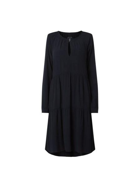 Sukienka rozkloszowana - niebieska Lieblingsstück