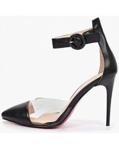 Кожаные туфли - черные Teetspace