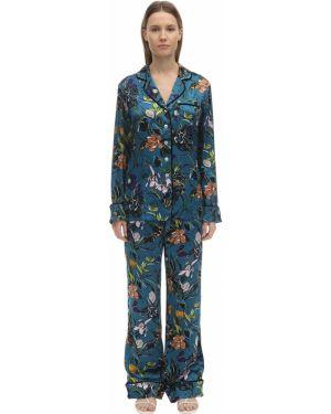 Piżama długo z klapą Olivia Von Halle