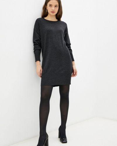 Трикотажное платье - серое Rodier