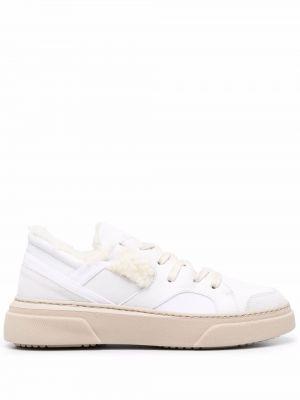 Белые кроссовки на шнуровке Dorothee Schumacher