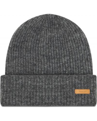 Szara czapka z akrylu Barts