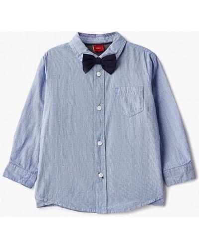 Голубая рубашка S.oliver