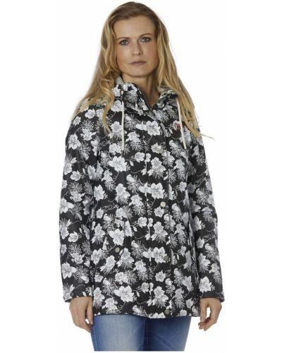 Czarny płaszcz przeciwdeszczowy Danwear