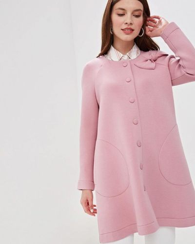 Пальто розовое летнее Helmidge
