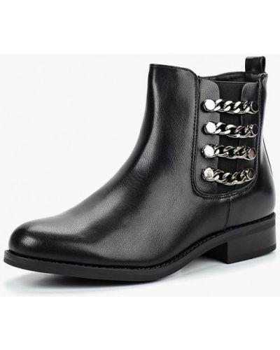 Кожаные ботинки осенние на каблуке Sweet Shoes