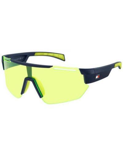 Żółte okulary Tommy Hilfiger