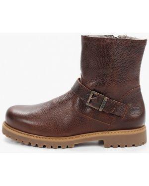 Ботинки осенние кожаные коричневый Dockers By Gerli